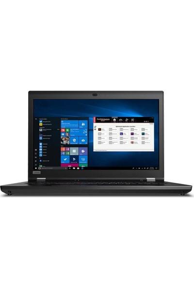"""Lenovo ThinkPad P73 Intel Xeon E-2276M 64GB 1TB SSD RTX 5000 Windows 10 Pro 17.3"""" UHD Taşınabilir Bilgisayar 20QR002XTX03"""