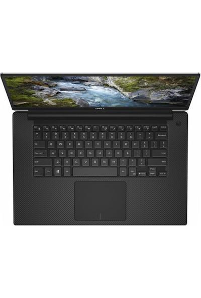 """Dell Precision Intel Xeon W-10855M 16GB 256GB SSD Quadro T1000 Windows 10 Pro 15.6"""" UHD Taşınabilir Bilgisayar M5550"""