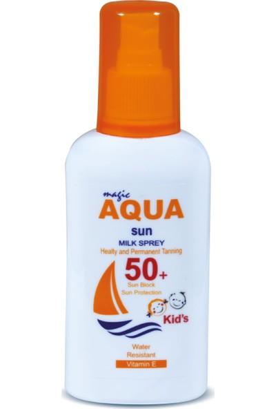 Aqua Sun 50+ Faktör Yüksek Koruma Güneş Sütü