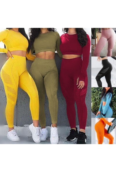 Buyfun Kadın Yoga Tayt Pantolon