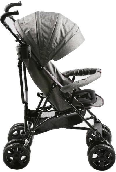Duux Siena Baston Bebek Arabası Gri