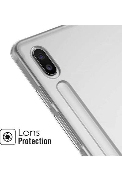 Engo Samsung Galaxy Tab S7 Plus 12.4 Inç SM-T970 Şeffaf Kılıf