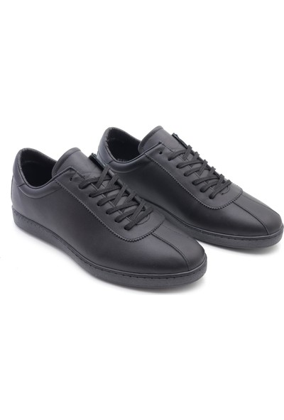 Man Deri Casual Bağcıklı Erkek Deri Spor Ayakkabı