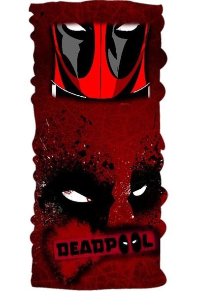 Loco Active Çok Amaçlı Bandana-Deadpool