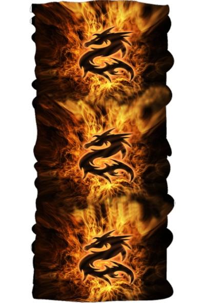Loco Active Çok Amaçlı Bandana-Dragon