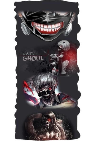 Loco Active Çok Amaçlı Bandana-Tokyo Ghoul