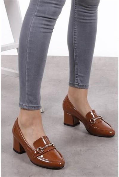 Mio Gusto Jamie Taba Topuklu Ayakkabı