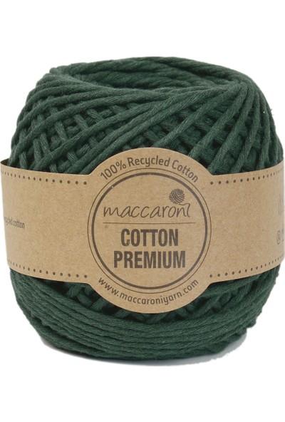 Maccaroni Pamuk Makrome İpi - Taranabilir - 100 gr - 85 m - 2 mm