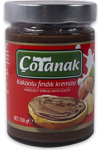 Çotanak Kakaolu Fındık Kreması Cam - 700 gr