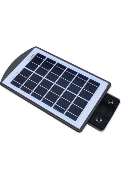 Twinix Güneş Enerjili Solar 20W Sokak Aydınlatma Sürekli Yanma Mod Hareket Sensörlü Dış Mekan Aydınlatması Su Geçirmez