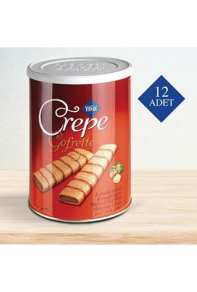 Çizmeci Time Crepe 240 gr Fındıklı 12 'li Paket