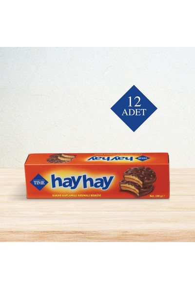 Çizmeci Time Hay Hay 108 gr 12 'li Paket