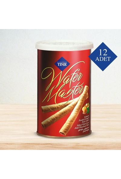 Çizmeci Time Wafer Master 250 gr Fındıklı 12 'li Paket