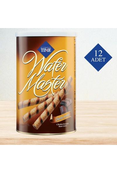 Çizmeci Time Wafer Master 400 gr Çikolatalı 12 'li Paket