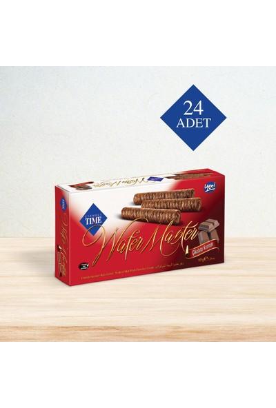 Çizmeci Time Wafer Master 65 gr Çikolatalı 24 'lü Paket
