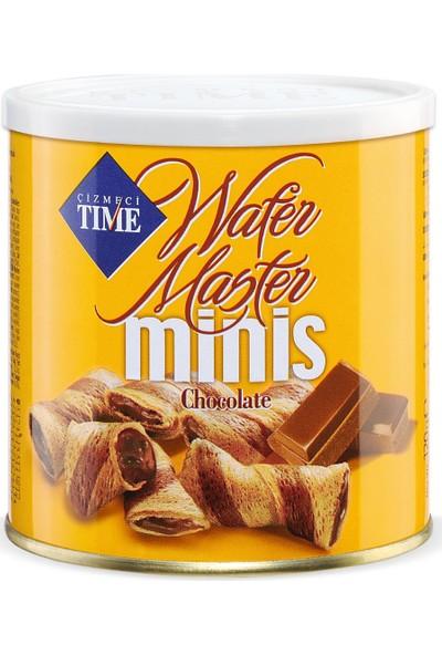 Çizmeci Time Wafer Master MINIS120 gr Çikolatalı 12 'li Paket