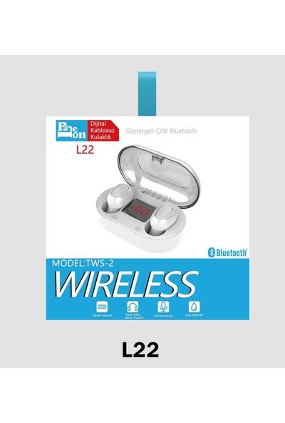Paleon TWS-2 L22 Bluetooth Stereo Kulaklık