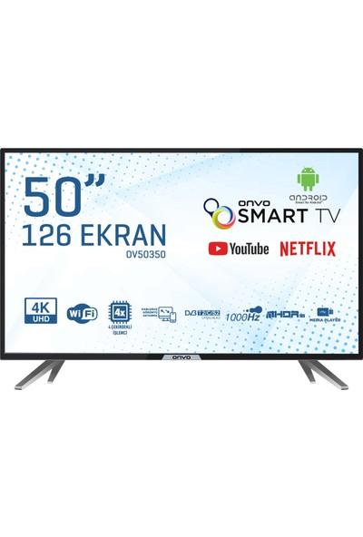 """Onvo OV50350 50"""" 126 Ekran Uydu Alıcılı 4K Ultra HD Smart LED TV"""