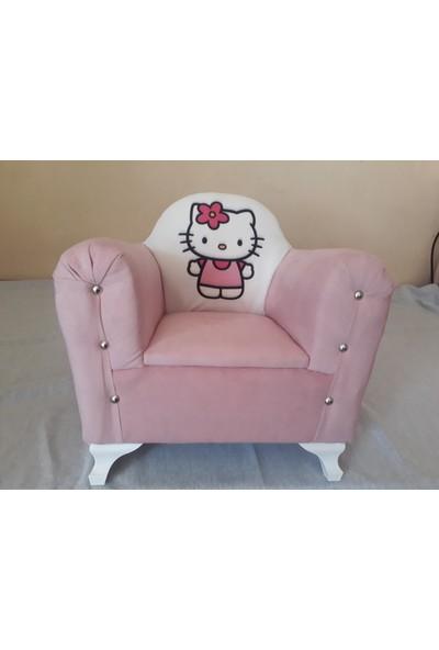 Nesil Kanepe Çocuk Koltuğu Hello Kitty Desenli