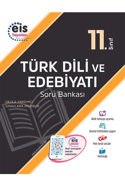 Eis Yayınları 11. Sınıf Türk Dili ve Edebiyatı Soru Bankası 2020