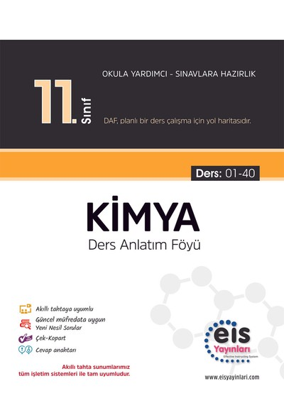 Eis Yayınları 11. Sınıf Kimya 2020
