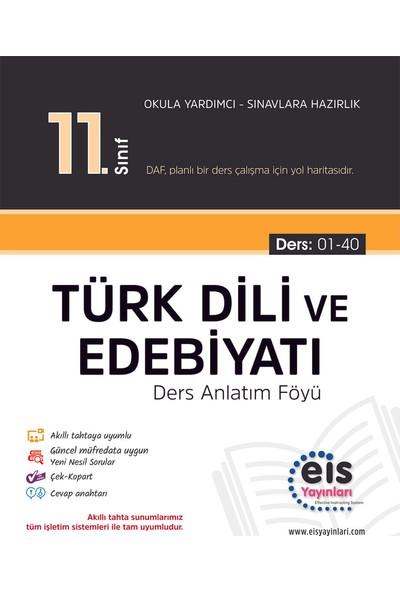 Eis Yayınları 11. Sınıf Türk Dili ve Edebiyatı 2020