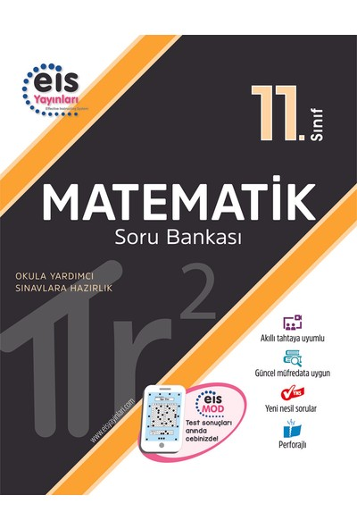 Eis Yayınları 11. Sınıf Matematik Soru Bankası 2020