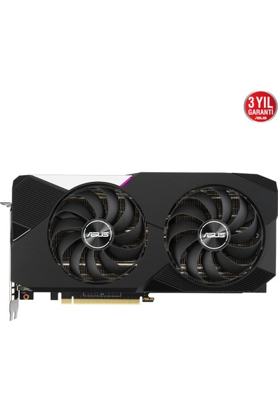 Asus GeForce Dual RTX 3070 8GB 256Bit OC GDDR6 (DX12) PCI-Express 4.0 Ekran Kartı (DUAL-RTX3070-O8G)