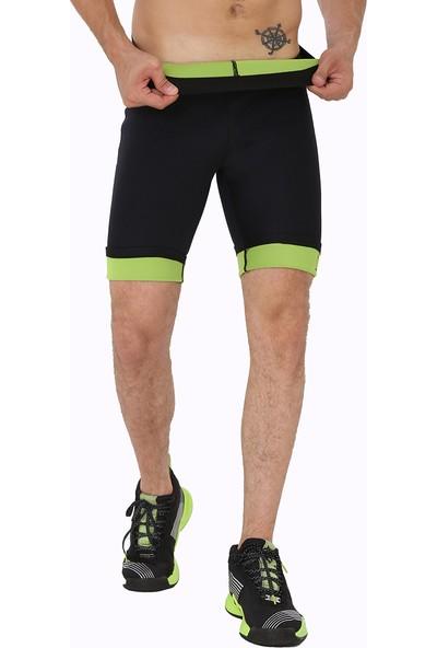 Giyincel Erkek Neopren Termal Spor Ve Terletme Kısa Tayt