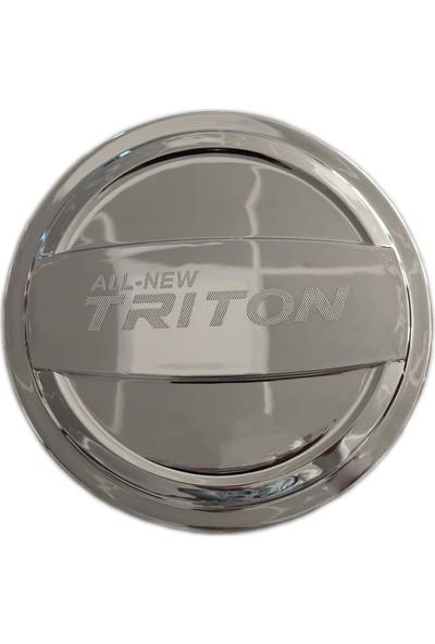 Autokit Mıtsubıshı L200 Depo Kapagı Kaplama Krom (2015+)