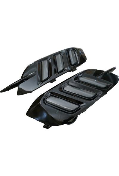 Autokit Honda Arka Sis Ledi Üç Çizgi Smoke-Siyah