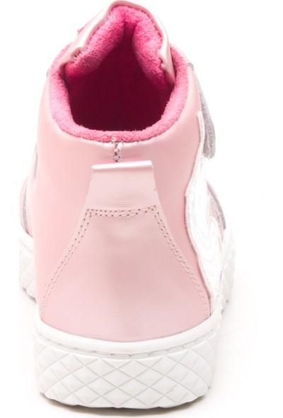 Minipicco Kız Çocuk Pembe Deri Bot