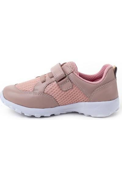 Minipicco Çocuk Pudra Deri Spor Ayakkabı