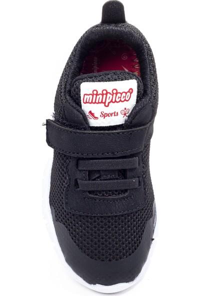 Minipicco Çocuk Siyah Spor Ayakkabı