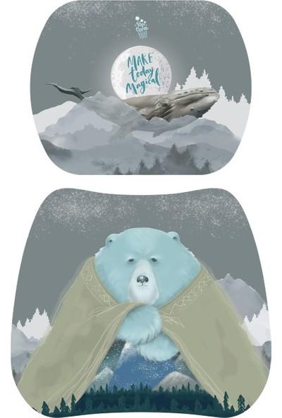 Popcorn Kids Kutup Polar Aktivite Sandalye 5 - 9 Yaş