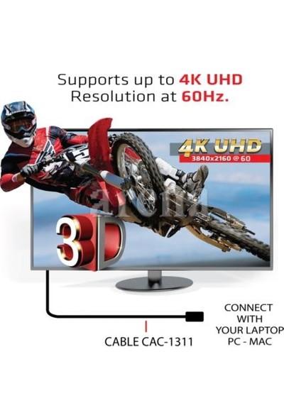 CLUB3D CAC-1311 4K UHD Yüksek Hızlı Premium HDMI 2.0 Kablo - 1m