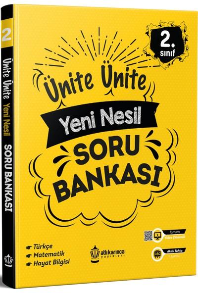 Atlı Karınca Yayıncılık Ünite Ünite 2. Sınıf Yeni Nesil Soru Bankası