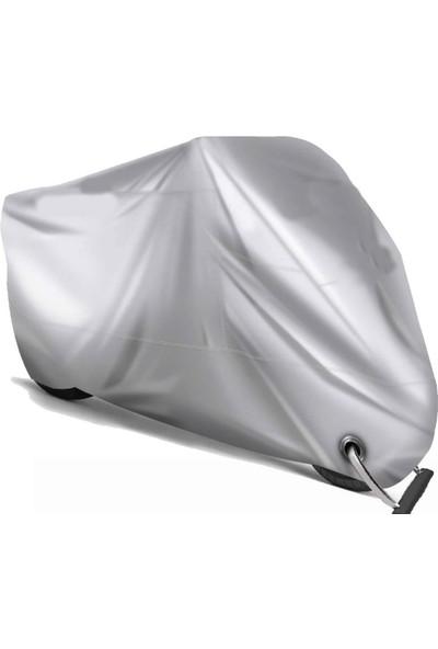 CoverPlus Arora Ar 100-8 Klasik Çelik Motosiklet Brandası (Bağlantı ve Kilit Uyumlu)