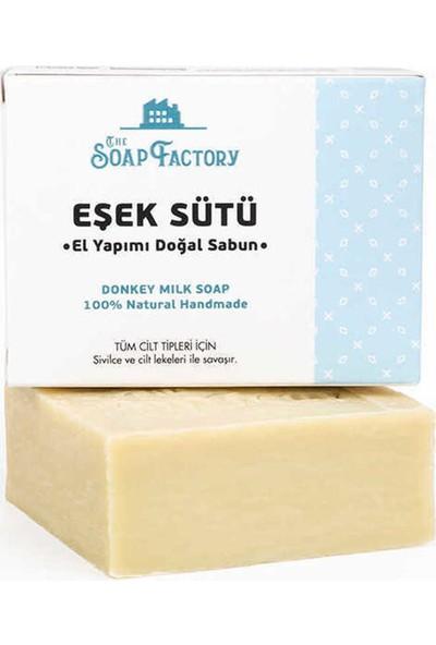 The Soap Factory El Yapımı Eşek Sütü Sabunu 3 x 110 gr (Toplam 3 Adet)