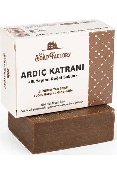 The Soap Factory El Yapımı Bitkisel Ardıç Katranı Sabunu 3 x 110 gr (Toplam 3 Adet)