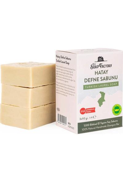 The Soap Factory Hatay Defne Sabunu 3'lü Kutu
