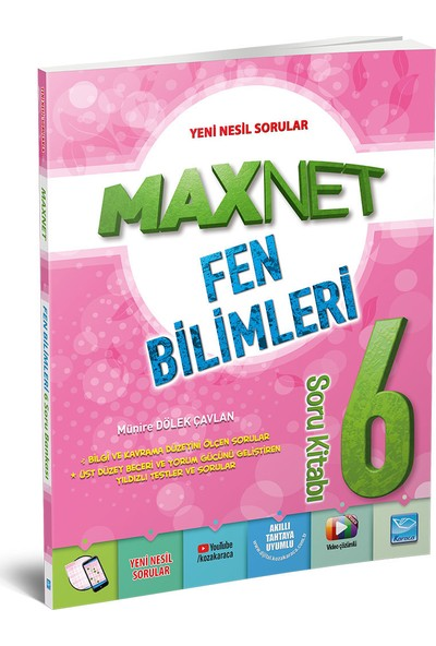 Maxnet 6. Sınıf Fen Bilimleri Soru Kitabı