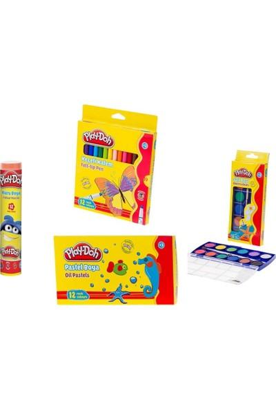Play-Doh Boya Seti 4'lü Set 3