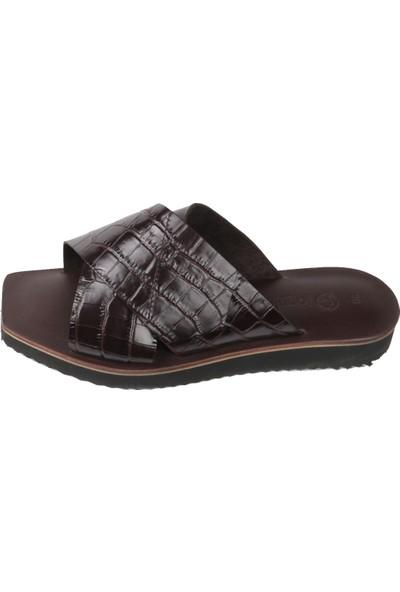 Topukla 2148 Deri Bodrum Sandalet