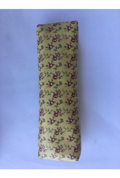 Agt Make Nots Kalem Çantası Vintage Çiçekli Tek Gözlü