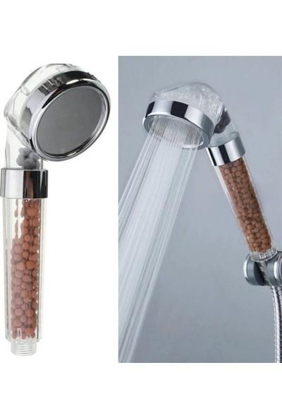 Eden Boncuklu Süper Tazyikli Su Tasarruflu Duş Başlığı