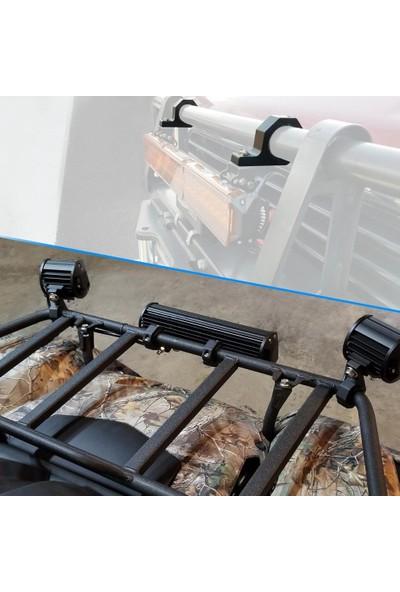 Knmaster Motosiklet Koruma Demiri Sis Farı Montaj Ayağı