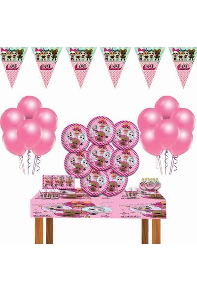 Disney Lol Bebek Lol Doğum Günü Parti Malzemeleri Süsleri Set 16 Kişilik