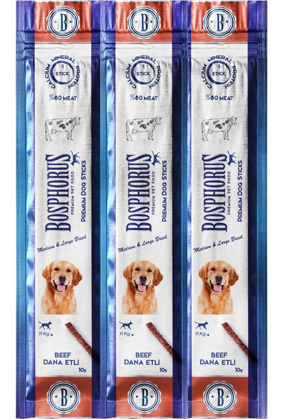 Bosphorus Dana Etli Köpek Ödülü / Dog Sticks With Beef