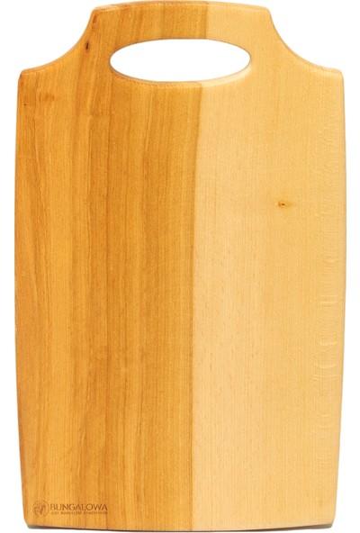 Bungalowa® Çanta Tip Kesme Tahtası Naturel-Orta